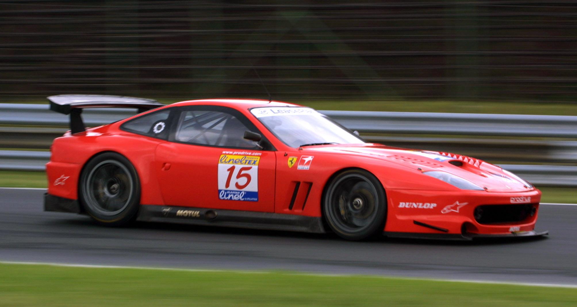 Ferrari Hungary race