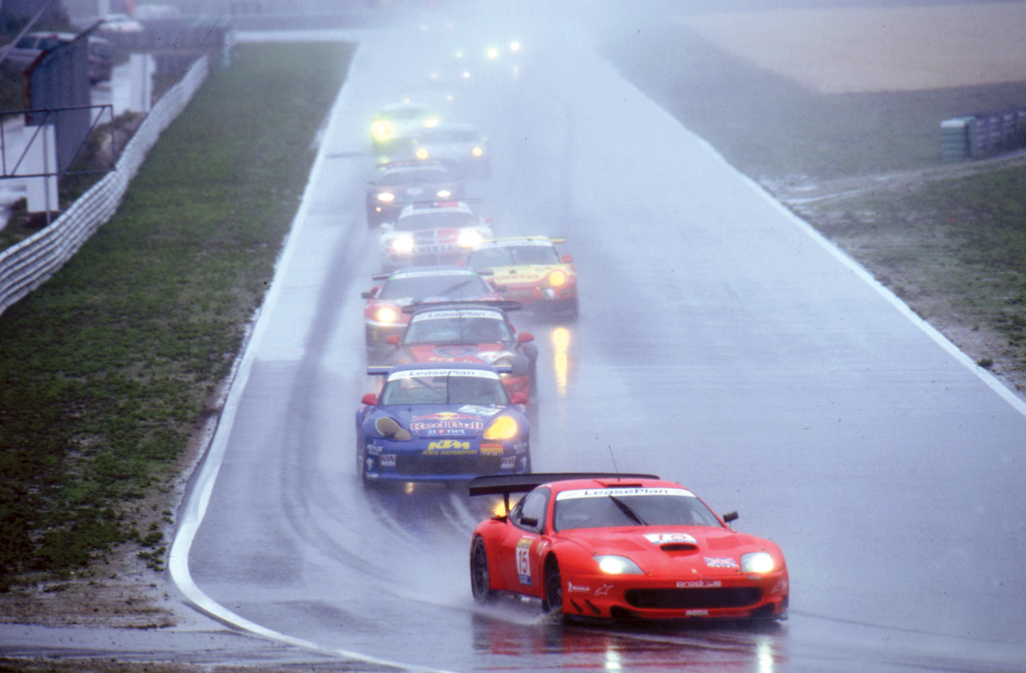 Ferrari Portugal wet race