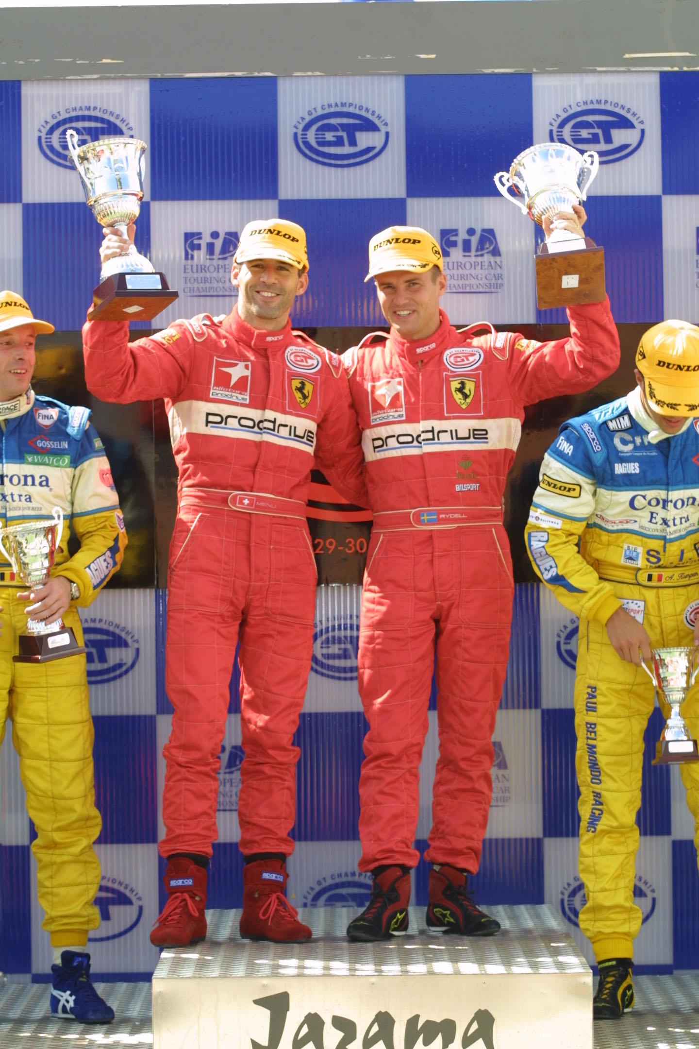 Ferrari Spain podium