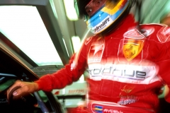 Ferrari Rickard with helmet